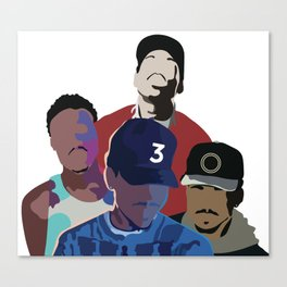 Chance the Rapper - Coloring Book, Acid Rap, 10 Day, SOX Canvas Print
