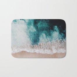 Ocean (Drone Photography) Bath Mat