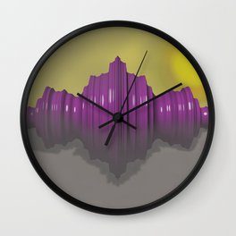 Morning Figure Wall Clock
