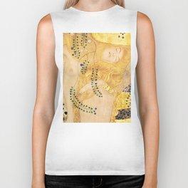 Water Serpents - Gustav Klimt Biker Tank
