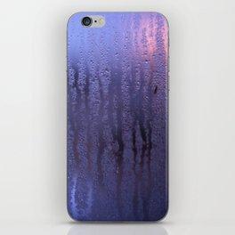 Purple Condensation iPhone Skin