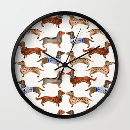 Dachshunds Wall Clock