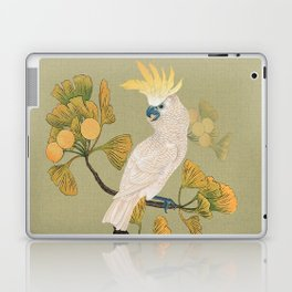 Cockatoo and Ginkgo Tree Laptop & iPad Skin
