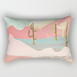 Desert Mountains Rectangular Pillow