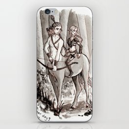 The Protectors of the Forest iPhone Skin
