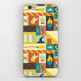 King's Cross - Harry Potter iPhone Skin