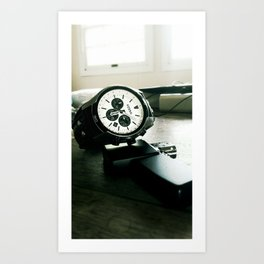 fossilized time Art Print