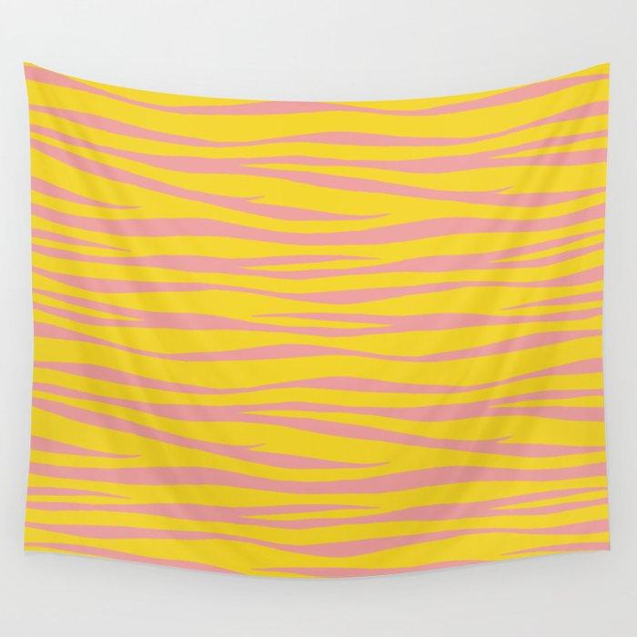 Zebra Print - Sunny Days Wall Tapestry
