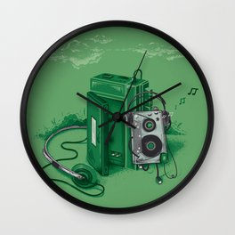 Music Break Wall Clock