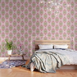 Wild plant pattern 3a Wallpaper