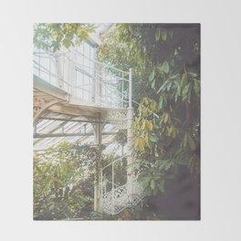 Greenhouse 2 Throw Blanket