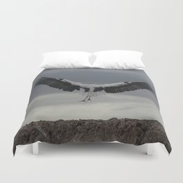 Spread your wings and land Duvet Cover