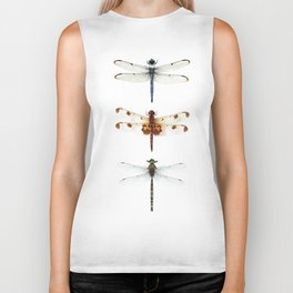 Dragonfly Collector Biker Tank