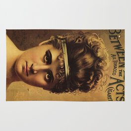 Vintage poster - Cigarettes Rug