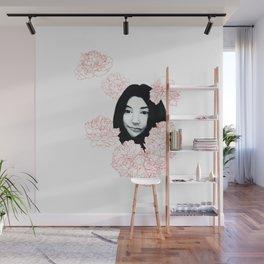 Imagine Yoko Wall Mural