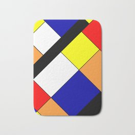 Mondrian #18 Bath Mat