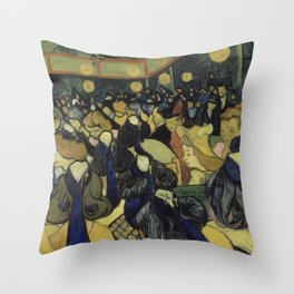 The Dance Hall in Arles Throw Pillow