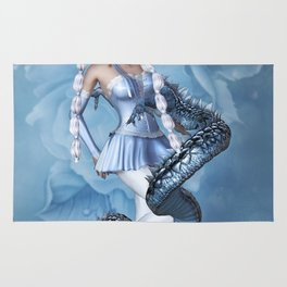 Manga Blue Dragon Rug