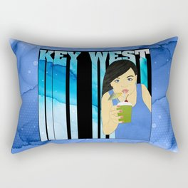 Drink Up in Key West Rectangular Pillow