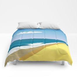 Rothko at the Beach Comforters