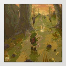Childhood favorite - Ocarina of Time Canvas Print