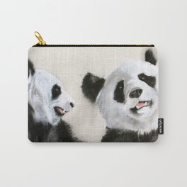 Laughing Pandas  Carry-All Pouch