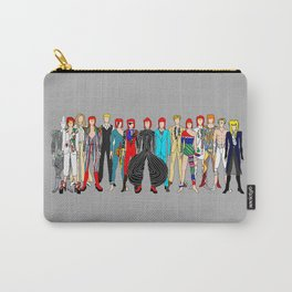 Gray Heroes Group Fashion Outfits Carry-All Pouch