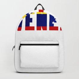 Venezuela Lettering Backpack