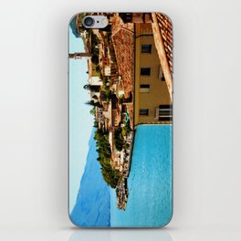 Limone Sul Garda Lake Garda Italy photo painting  iPhone Skin