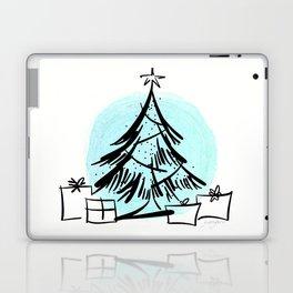 Holiday Greetings Laptop & iPad Skin