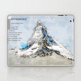 Matterhorn, Switzerland Laptop & iPad Skin