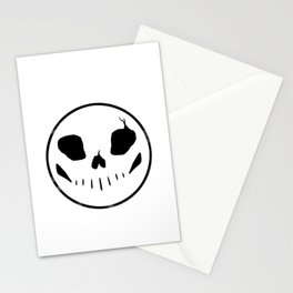 Bones button Stationery Cards