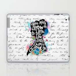 Mr. Darcy - Ardently Admire & Love You Laptop & iPad Skin