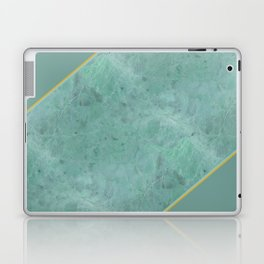 Emerald Green Marble Laptop & iPad Skin