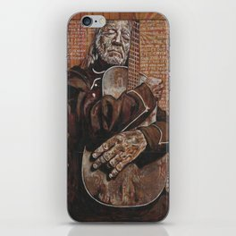 Willie's Guitar iPhone Skin