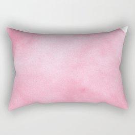 Watercolor pink Rectangular Pillow
