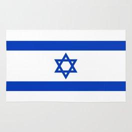 Israel Flag - High Quality image Rug