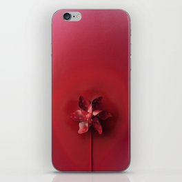 Red explosion iPhone Skin