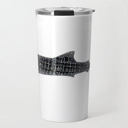 Whale shark Rhincodon typus Travel Mug