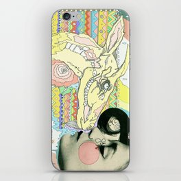 luv el chivo, la cabra  iPhone Skin