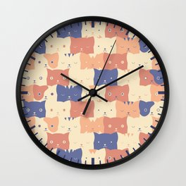 Clowder Wall Clock