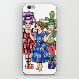 We Three Queens iPhone Skin