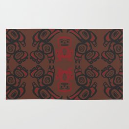 Twin Peaks The Great Northern Lodge Tribal Painting Rug