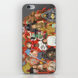 Strarwars at the movies iPhone Skin