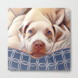 The French Bulldog Metal Print