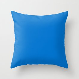 Los Angeles Football Team Powder Blue Solid Mix and Match Colors Throw Pillow