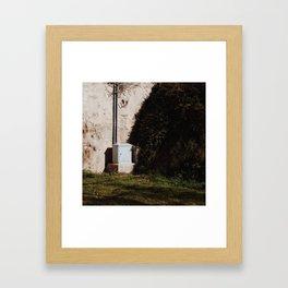 Sunny Corner Framed Art Print