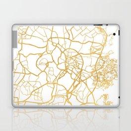 KUALA LUMPUR MALAYSIA CITY STREET MAP ART Laptop & iPad Skin