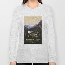 Waterton Lakes National Park Long Sleeve T-shirt