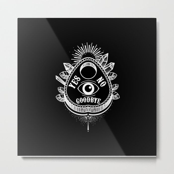 Call Me On the Ouija Board Metal Print